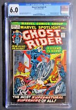 Marvel Spotlight #5 CGC 6.0 1ST Ghost Rider Johnny Blaze MCU Disney+ WH/OW