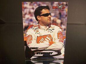 Rare Tony Stewart #20 Home Depot Wheels Rookie Year 1999 Card #33