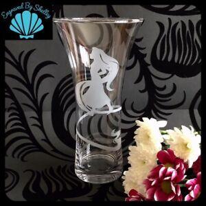 Disney Rapunzel Glass Vase Wedding Table Deco New House Warming Birthday Gift