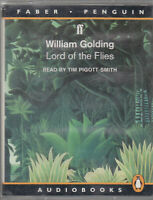 William Golding Lord Of The Flies 2 Cassette Audio Book Abridged FASTPOST