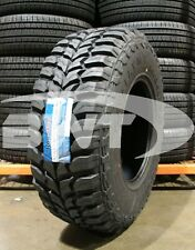 4 New 35X12.50-17 Roadone Cavalry M/T Mud Tire 121Q 12.5R R17 35 12.50 17