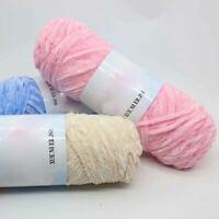 Thick Yarn crochet sale Soft DIY Chenille Velvet 1pc 100g knitting Wool
