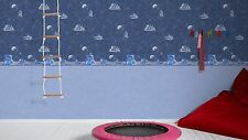 SPACE SPACESHIP TEENAGE CHILDRENS BOYS FEATURE WALLPAPER A.S CREATION 30489-1