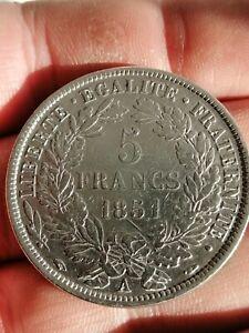 5 Francs 1851 A Argent