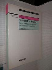 COMPETITIVE BIDDING Michele Titolo Animp Etas Libri 1994 scienza tecnica libro