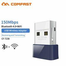 150Mbps USB Wireless WiFi Adapter Dongle Dual Band 5G Bluetooth PC Desktop