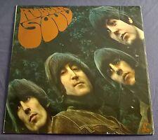 BEATLES ~ Rubber Soul ~ UK PCS 3075 STEREO ONE BOX EMI PRESS ~ N.MINT VINYL