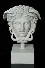 Marble Medusa the Gorgon Sculpture. Greek Mythology, Art, Gift Ornament.