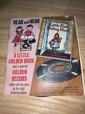 Little Golden Books: Little Red Riding Hood - Read & Hear Record & Book 45 Rpm