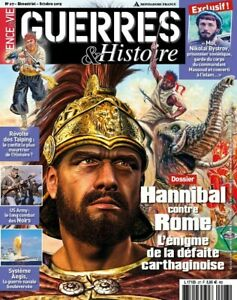 Guerres et Histoire n°27 Hannibal contre Rome Taiping neuf
