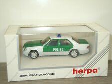 Mercedes E320 Limousine Polizei - Herpa 1:43 in Box *41315