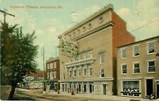 1913 Orpheum Theater, Vaudeville Sign, Allentown, Pennsylvania Postcard