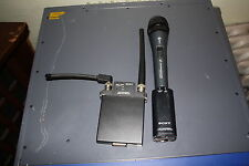 Sony Wireless MIC System - WRR-855A and WRT-808A
