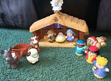 Fisher Price Little People Christmas Nativity Musical Animals Baby Kings Set Lot