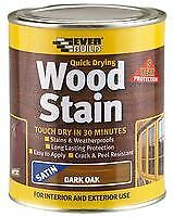 WOOD STAIN DARK OAK 250ML Chemicals Coatings - SA02651
