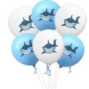 Baby Shark Big Shark Foil & Latex Balloons Boys Girls Birthday Party Decoration