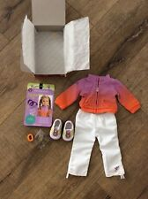 EUC American Girl McKenna's Warm-Up Outfit- RETIRED