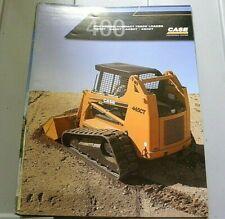 Factory 2006 Case 400 Series Compact Track Loader Sale Dealership Spec Brochure