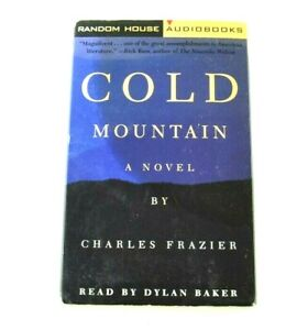 Cold Mountain A  Novel Charles Frazier 2 pcs Audiobook Audio Book Cassette Tapes