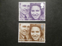 GB 1973 Commemorative Stamps~Wedding~Fine Used Set~UK Seller