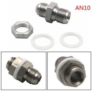 Universal Stainless Steel Oil Pan Return Drain Plug Adapter Bung Fitting 10AN