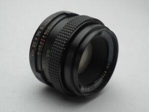 Vivtar Auto 50mm f1.8 M42 Screw  mount Lens Vintage Sharp! made in Japan! READ