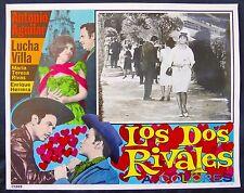 LUCHA VILLA ANTONIO AGUILAR Los Dos Rivales LOBBY CARD PHOTO 1966