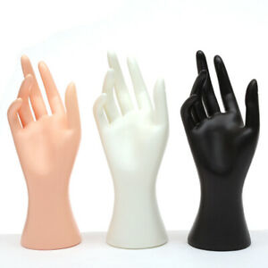 New Mannequin Hand Finger Jewellery Glove Ring Bracelet Display Stand Holder UK