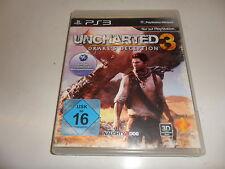 PlayStation 3 PS 3 Uncharted 3: Drake 's decepción