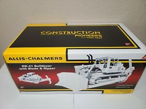 Allis-Chalmers HD-41 Dozer - White - First Gear 1:25 Scale Model #49-0164 New!