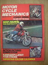 VINTAGE MAGAZINE MOTORCYCLE MECHANICS FEBRUARY 1975