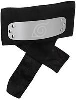 Great Eastern Naruto Shippuden Leaf Village Headband, Black