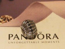 AUTHENTIC PANDORA ART DECO BLACK SHOW STOPPER CHARM - 790545CZK