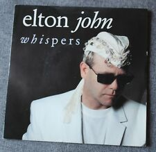 Elton John, whispers / medicine man, SP - 45 tours
