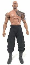 "NOX-FF-PT: Black Cargo Pants for 7"" Mattel WWE or Storm Hulk Hogan (No Figure)"