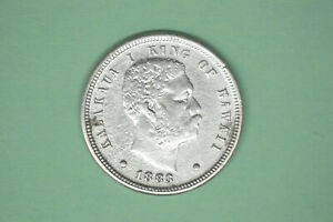 1883 Hawaii Dime- Nice Details/ Cleaned (From my Dad's Collection)