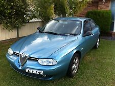 ALFA ROMEO156  Front bumper. light Blue early exc cond.  EOFY SALE