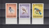 TIMBRE STAMP  3 JORDANIE Y&T#675-77 OISEAU BIRD  NEUF**/MNH-MINT 1970~B53