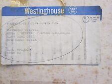 Westinghouse Advantage Starter Part#A200S1CAABT8 Size1 New Surplus in Box