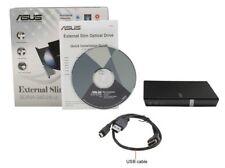 Asus SDRW-08D2S-U 8X USB 2.0 Ultra Slim External CD/DVD Writer Black Retail BOX