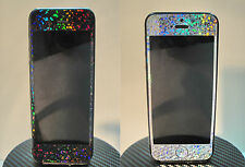 iPhone 5 SPARKLES RAINBOW Sticker for iPhone 5 Full Body Skin * Black or Silver