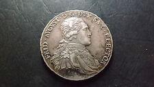 1805 German Saxony Silver Taler Albert Frederick August I