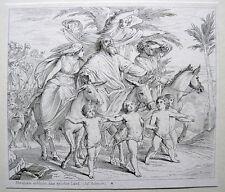 Abraham erblickt das gelobte Land Julius Schnorr von Carolsfeld Nazarener