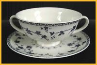 Royal Doulton Yorktown Soup Coupes & Saucers