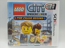 LEGO City Undercover: The Chase Begins Nintendo 3DS US First Print New Sealed