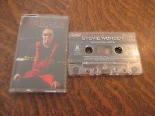 cassette audio STEVIE WONDER ballad collection