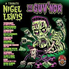PSYCHOBILLY CD the GUVNOR Tribute To NIGEL LEWIS punkabilly horrorbilly NEW