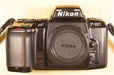 Nikon f-601 af cuarzo date espejo reflex, bonito estado + estado de funcionamiento