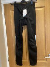 BNW CRANE BLACK PADDED CYCLING TIGHTS LEGGINGS. SMALL .28/30 WAIST