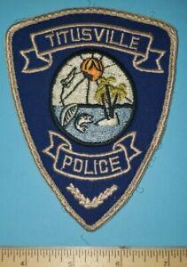 Older Titusville FL Police Patch